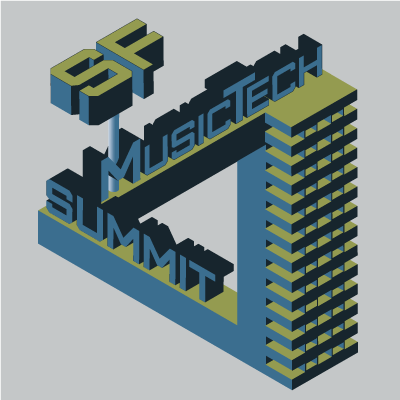 A t-shirt design for SF MusicTech Summit