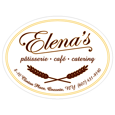 A label design for a bakery