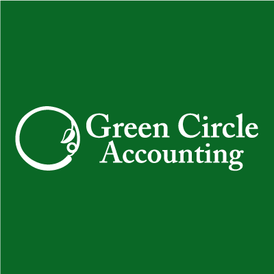 A logo for Green Circle Accounting