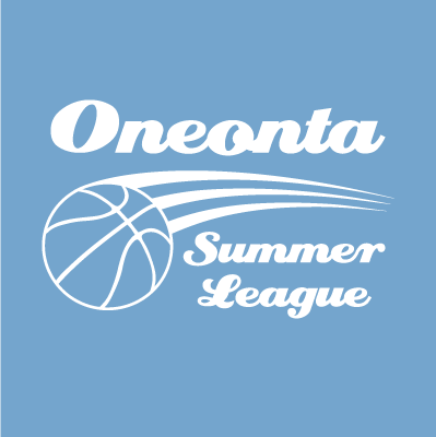 A logo for Oneonta Summer League