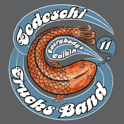 A shirt design for Tedeschi Trucks Band